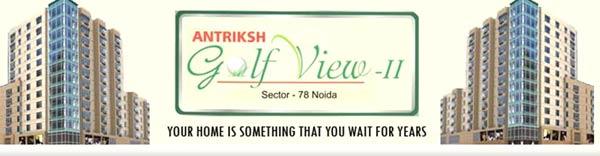Antriksh Golf View-II, Noida - 2, 3 & 4 BHK Apartments