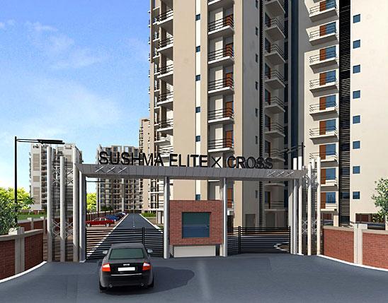 Sushma Elite Cross, Dhakoli - 3 BHK Flats & Apartments