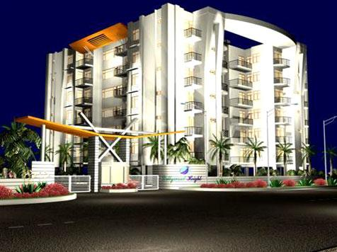 Bollywood Heights, Dhakoli - Luxury Residential Apartments