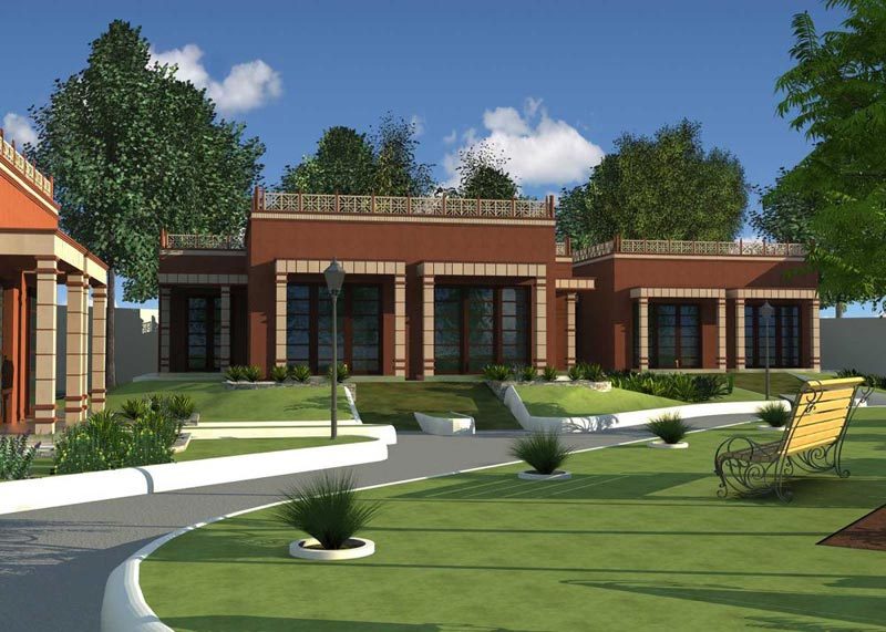 Flora Villas and Farms, Agra - Residential Villas