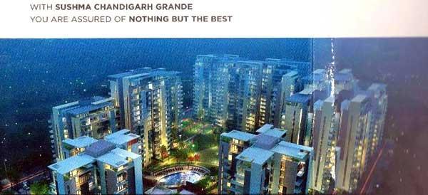 Sushma Chandigarh Grande, Zirakpur - 3/4 BHK Luxury Apartments