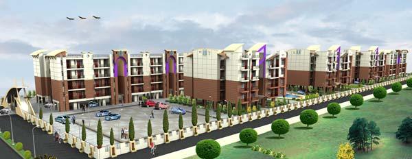 Daksh Enclave, Udham Singh Nagar - 2/3 Bedroom Apartments