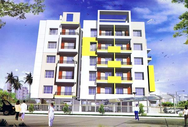 Mansi Heights, Raipur - Residential cum Commercial Apartments