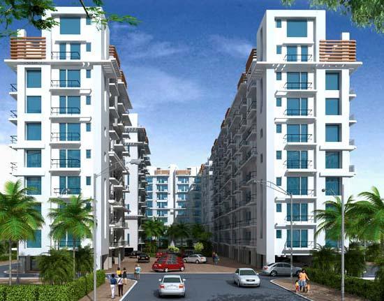 Sushma Urban Views, Dhakoli - 3 BHK Apartments