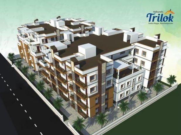 Vaikund Trilok, Kanchipuram - Vaikund Trilok