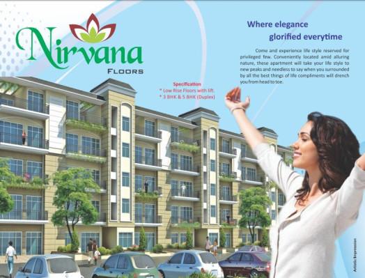 KLJ Nirvana Floors, Bahadurgarh - 3/5 BHK Apartment