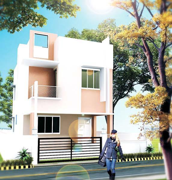 Residency Shakyasinha, Bhubaneswar - Residential Duplex Apartments