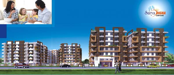 Surya Digha Compound, Patna - Residential Apartments