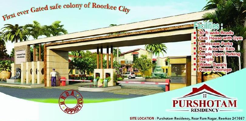 Purshotam Residency, Roorkee - 3 BHK Affordable Flats