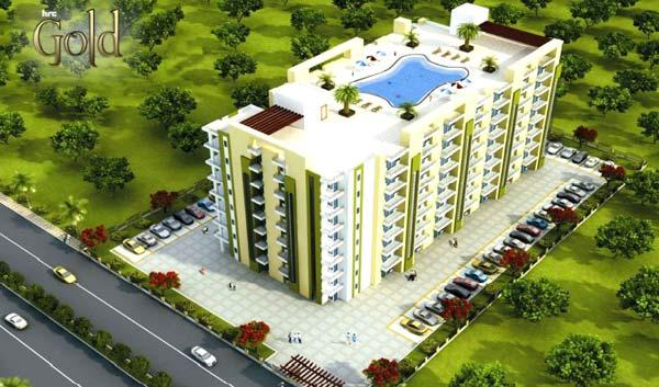 HRC Gold, Agra - 2 BHK & 3 BHK Apartments