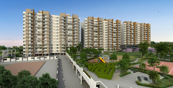 Daffodils Avenue, Pune - 1/2/3 BHK Appartments