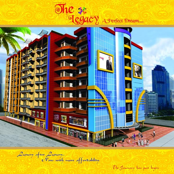 The Legacy, Gwalior - Luxurious High Rise Apartments