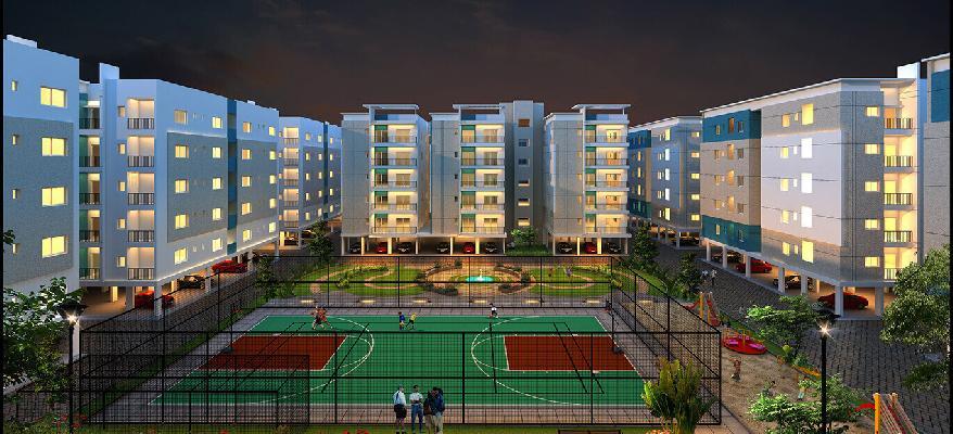 Chandrika Ayodhyaa, Vijayawada - 2 BHK & 3 BHK Apartment