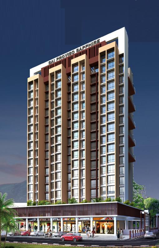 Sai Proviso Sapphire, Navi Mumbai - 1BHK & 2BHK Apartment