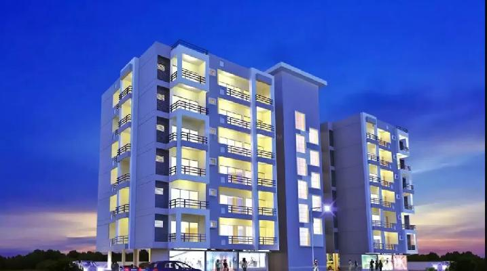 Shreeji K. Heights, Raipur - 3 BHK Apartment