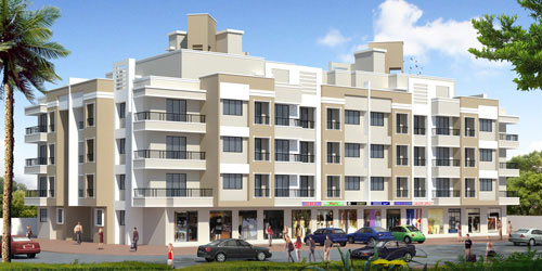 Vrindavan Nagari, Thane - Residential Apartments