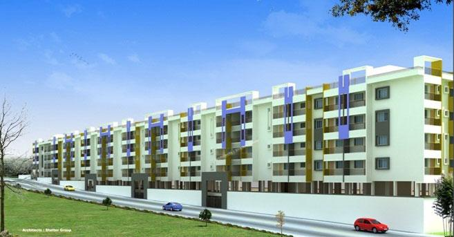 Upkar Oakland, Bangalore - 1 BHK / 2 BHK / 3 BHK Appartment