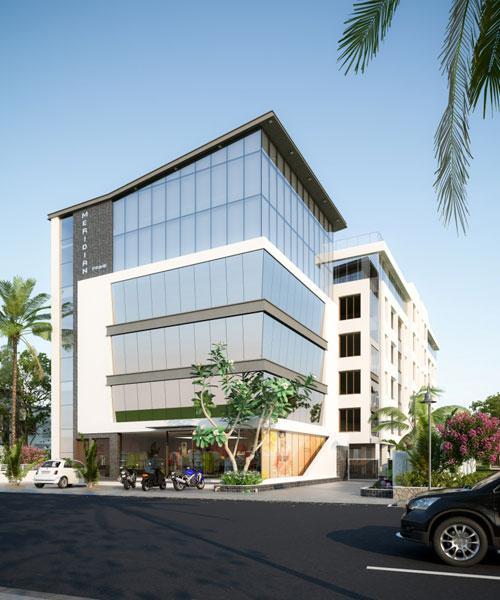 Meridian Prime, Vadodara - 2 & 3 BHK Opulence Flats & Commercial