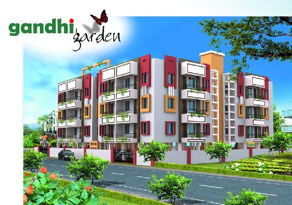 Gandhi Garden, Bhubaneswar - 2 BHK Luxury Apartments