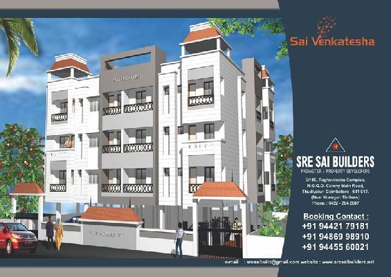 Sai Venkatesha, Coimbatore - 2 BHK Luxury Apartments