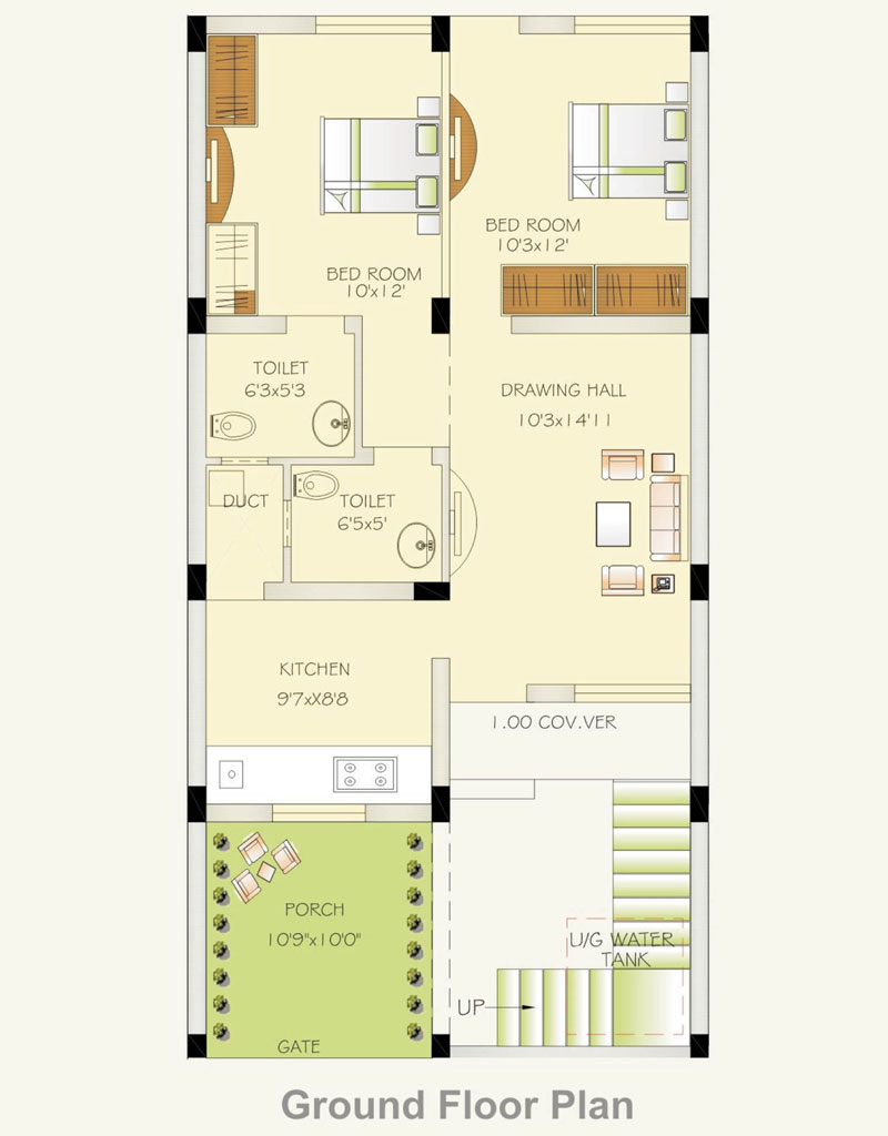 Radha krishan suda nagar jaisalmer rajasthan india 2 3 Ground floor house plan