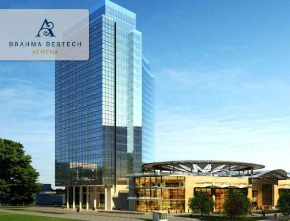 Brahma Athena, Gurgaon - 23-Storey Commercial Tower
