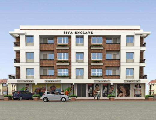 Siya Enclave, Vadodara - Shops and 2 & 3 BHK Apartments