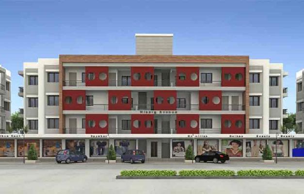 Nisarg Avenue, Vadodara - Shops and 2 & 3 BHK Apartments