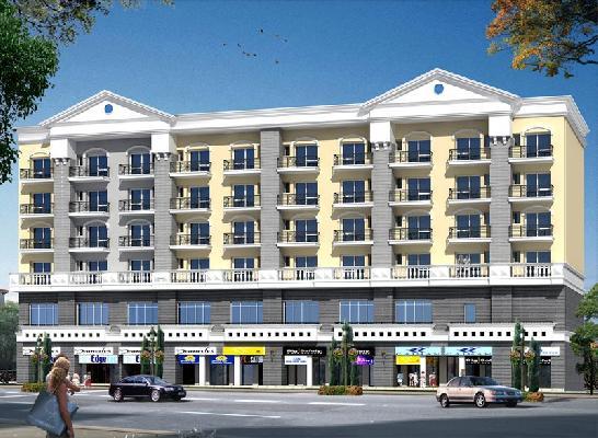 Omaxe Panorama City Mid Town, Bhiwadi - Shop, Club and Studio Apartments
