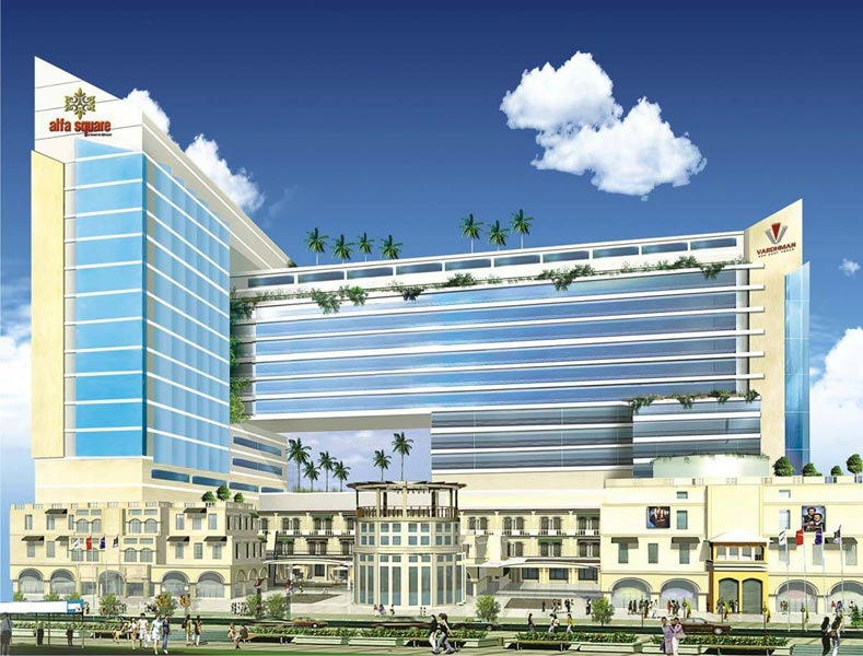 Alfa Square, Greater Noida - Commercial Mall Cum Office Complex