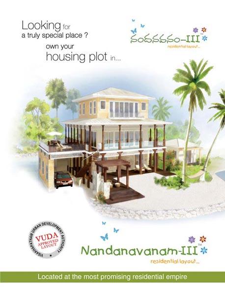 Nandanavanam - III, Visakhapatnam - Residential Plots
