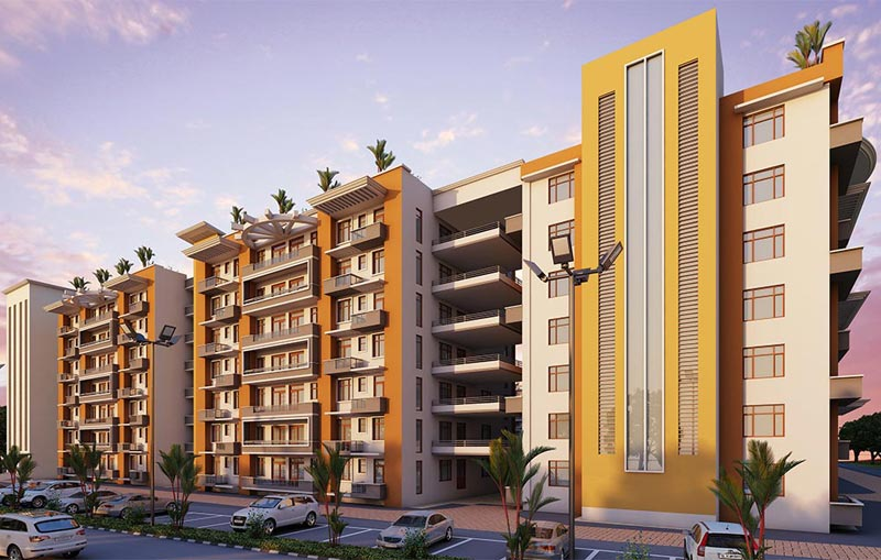 Arjun Lifestyle Greens, Haridwar - 1/2/3 BHK Luxury Apartments