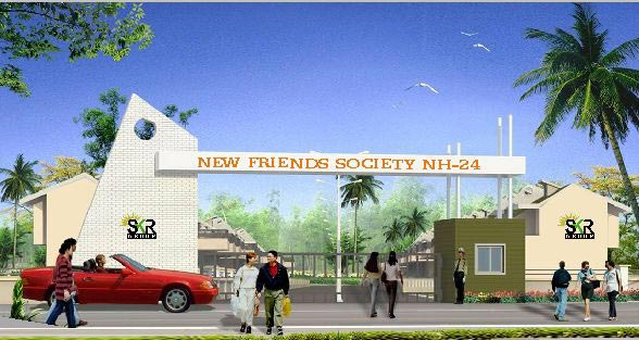 New Friends Society, Ghaziabad - Residential Flats