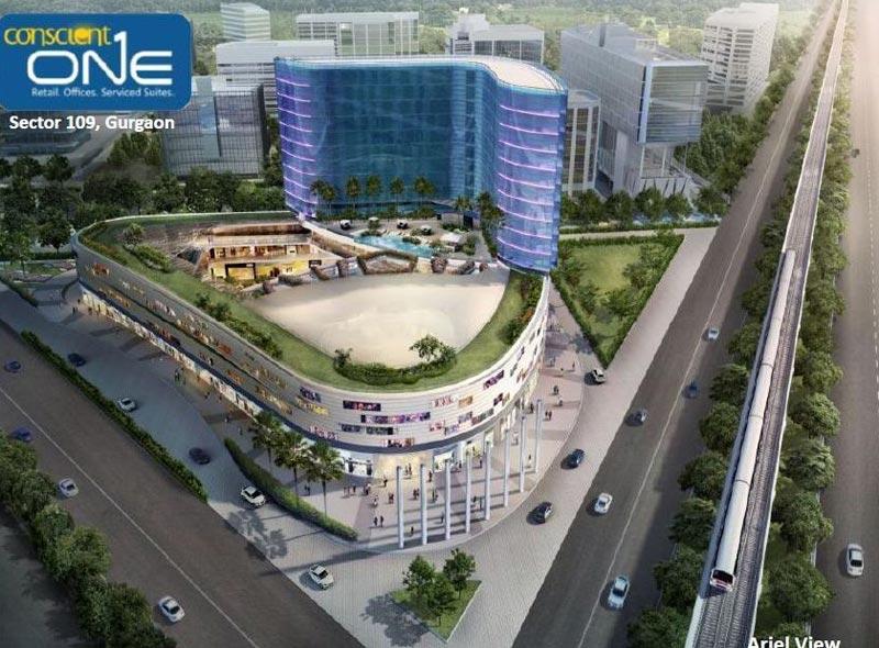 Conscient One, Gurgaon - Commercial cum Residential Landscape