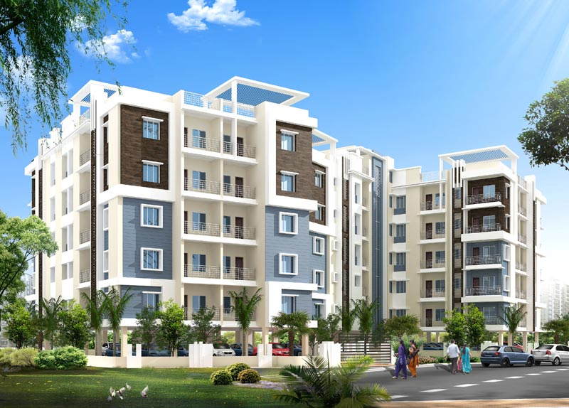 Symphony Tower, Dhanbad - 3 BHK Multistory Apartments