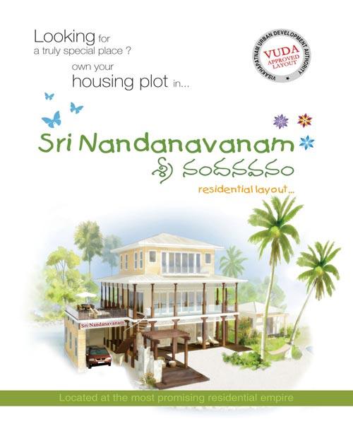 Sri Nandanavanam, Visakhapatnam - Residential Plots