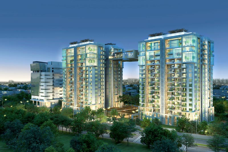 RMZ Latitude, Bangalore - 4 BHK Apartments & Premium Penthouses