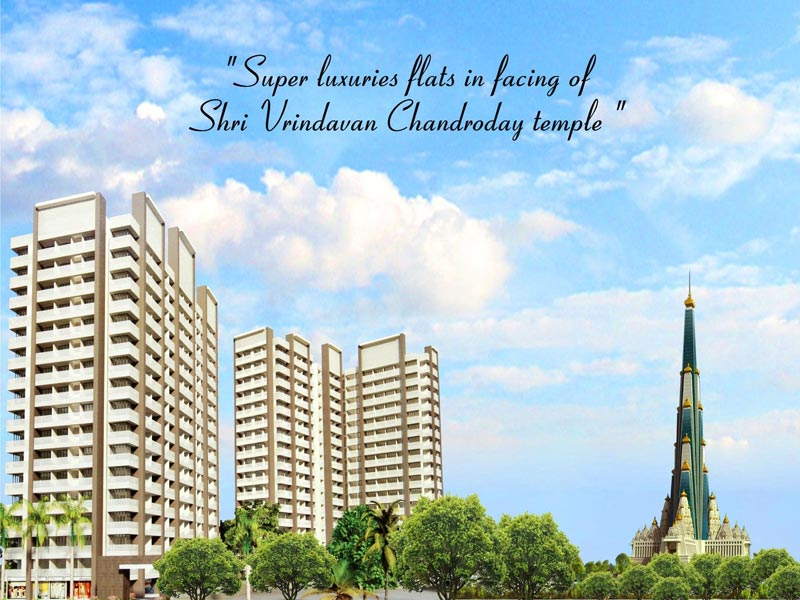 Shri Krishna Heights, Vrindavan - 1/2/3 BHK and Studio Flats