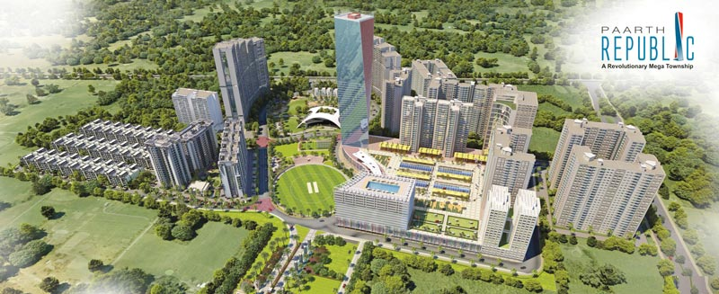 Paarth Republic, Lucknow - Mega Township