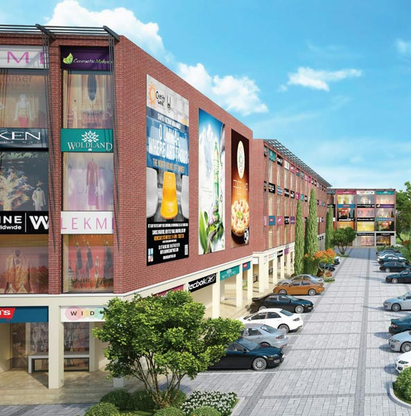 City Heart, Chandigarh - Commercial Showroom and SCOs