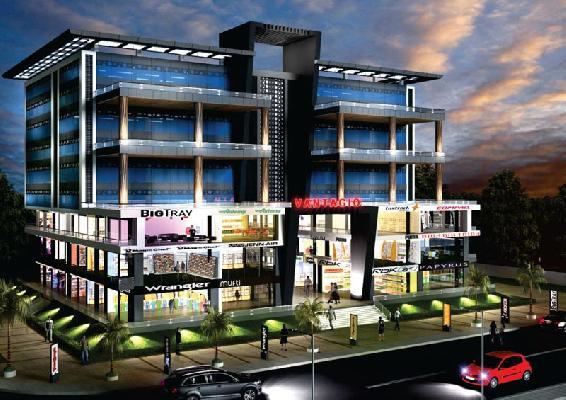 Vantagio, Pune - Shops / Showrooms & Office space