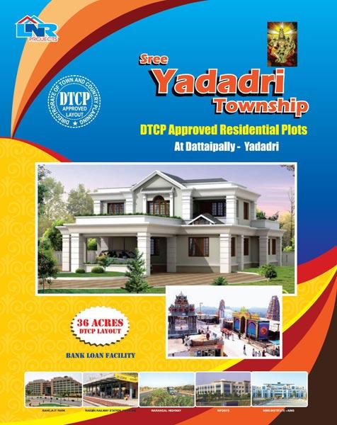 Sree Yadadri Township, Nalgonda - DTCP Approved Residential Plots