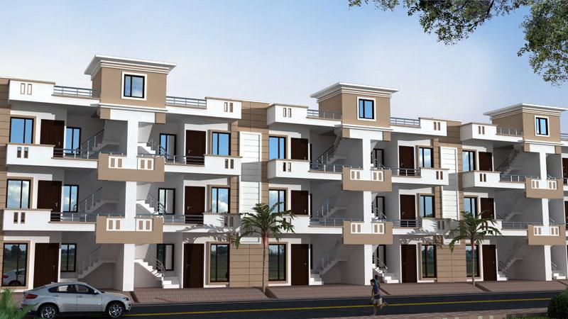Magnolia Floors, Agra - G + 2 Flats