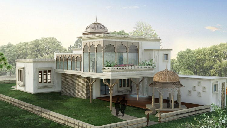 Front Elevation Of House In Jaipur : Holiday farms jaipur rajasthan india residential farm