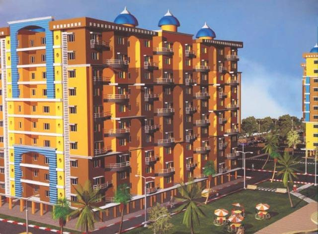 Sri Radhe Krishna Garden, Ranchi - 2 BHK Flats