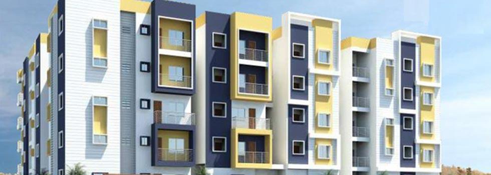Jnana Nivas, Bangalore - 2,3 BHK Apartment