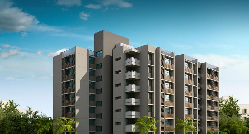 Shyam Residency, Ahmedabad - Luxurious Apartments