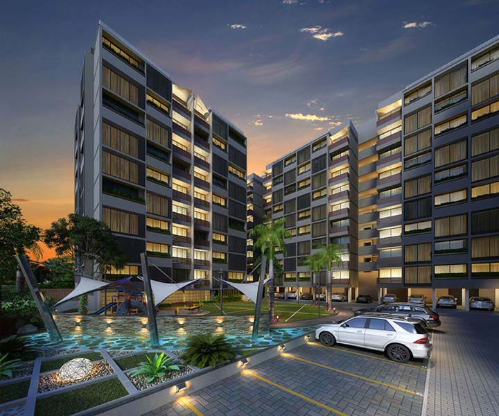 Vandemataram Crosswind, Ahmedabad - Luxurious Apartments