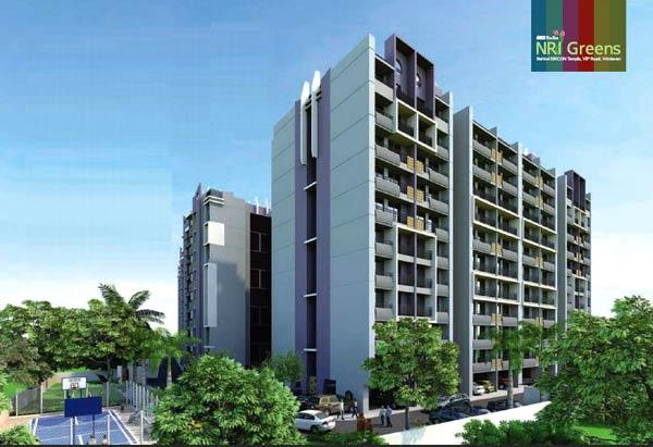 Shri Radha NRI Greens, Mathura - Residential Apartments