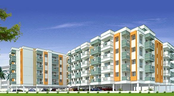 AKS Radiance, Chennai - 2 BHK Apartments